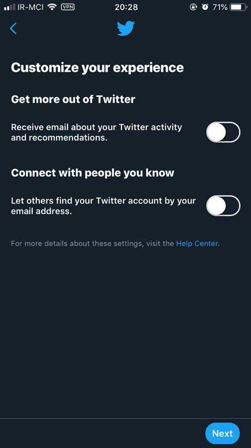 اکانت توییتر