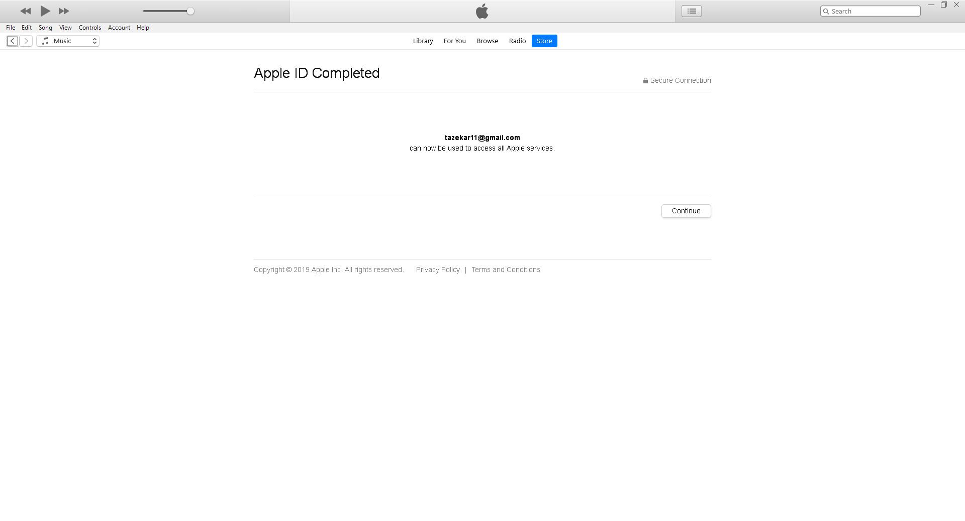 ساخت اپل آیدی