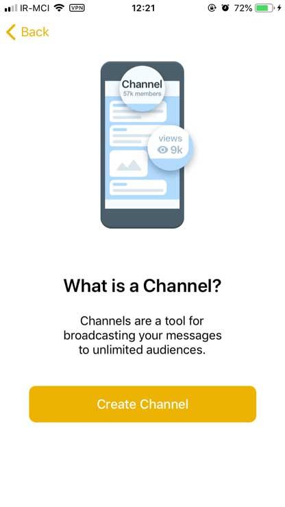 ساخت کانال در تلگرام