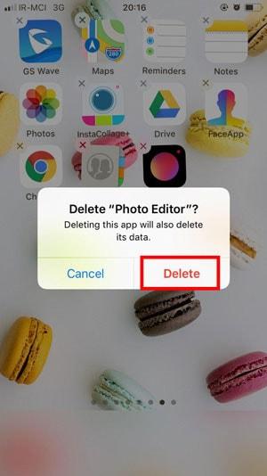 نصب و حذف برنامه در ios