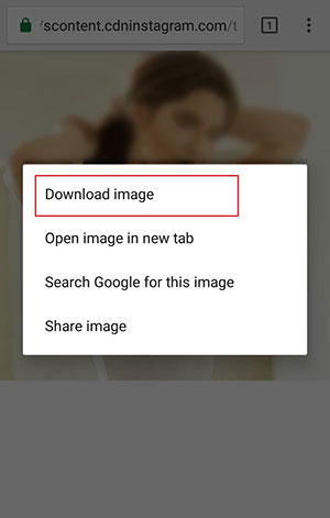 ذخیره عکس پروفایل اینستاگرام