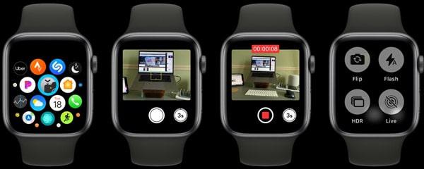 کنترل از راه دور آیفون با اپل واچ