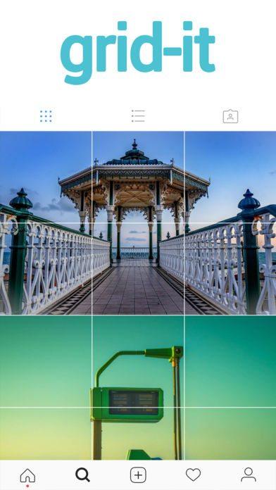 برنامه ساخت عکس گرید یا چهارخونه در اینستاگرام