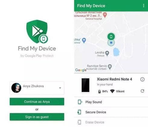 پاک کردن اطلاعات گوشی اندروید از راه دور
