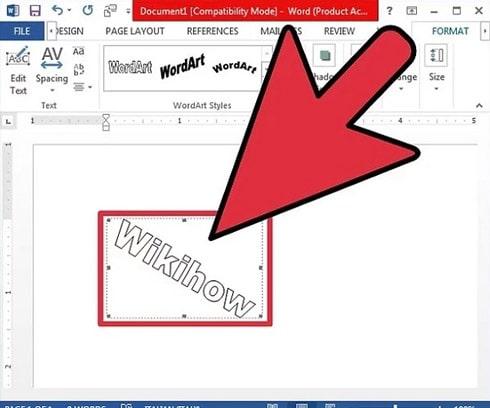 روش های افقی و عمودی نوشتن متن در ورد