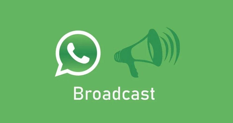 ارسال یک پیام به چند نفر و ارسال پیام گروهی در واتساپ