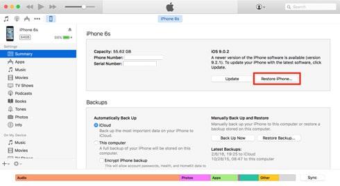 روش های حذف همه اطلاعات گوشی آیفون و آیپد