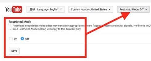 فعال سازی محدودیت سنی در یوتیوب