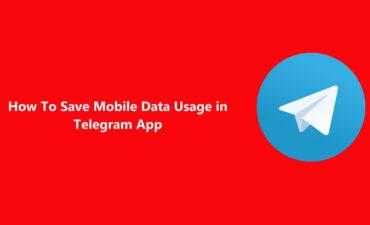 آموزش تنظیمات بخش داده ها و ذخیره سازی در تلگرام