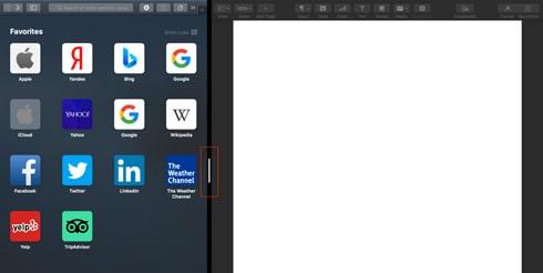 چگونگی استفاده از قابلیت Split View در مک