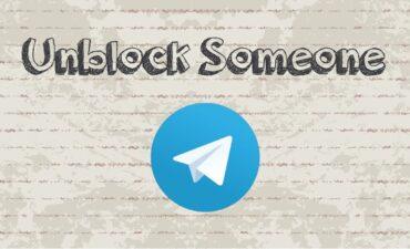 پاک کردن یک مخاطب از لیست بلاک تلگرام
