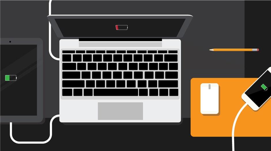تشخیص تعداد دفعات شارژ باتری لپ تاپ