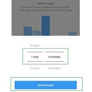 آموزش مدیریت و کنترل زمان فعالیت در اینستاگرام