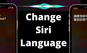 آموزش تغییر زبان سیری (Siri) روی آیفون و لپ تاپ مک