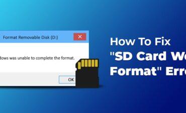 آموزش روش های بازیابی اطلاعات و فرمت کارت SD روی ویندوز و مک