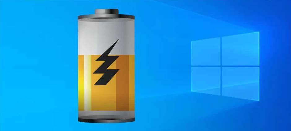 روش های بررسی تست سلامت باتری لپ تاپ های ویندوزی
